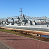 2017-10-30 Benson Miss Cruise Baton Rouge USS Kidd Destroyer bow view