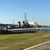 2017-10-30 Benson Miss Cruise Baton Rouge USS Kidd Destroyer view up river