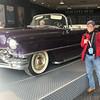 2017-11-03 Benson Miss Cruise Memphis 1 - Graceland Purple Cad Bob