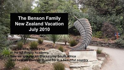 Benson Travel - New Zealand - 2010