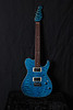 Don Grosh Bent Top in Trans Turquoise, HH Pickups