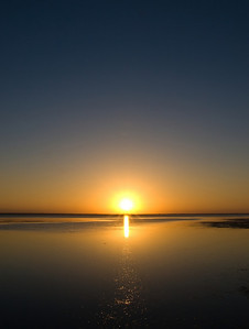 Sunsetting on Lake George