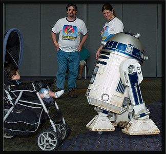 R2D2 and Baby