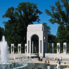 The Atlantic side of the WWII memorial.