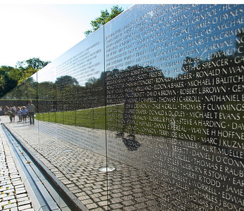 The Vietnam Wall.