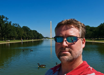 Me at the Washington Monument.