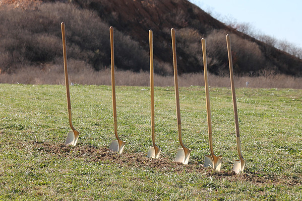 Bentonville Parks & Rec Ground Breaking 11-12-13