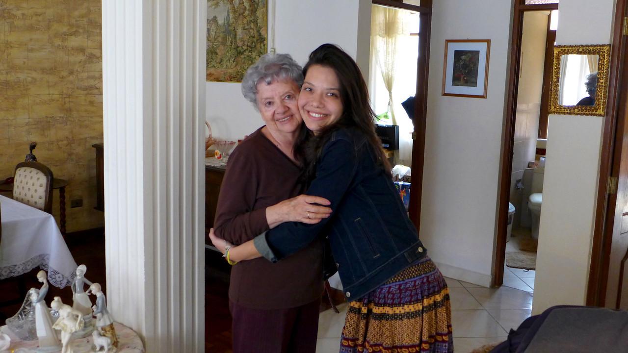 Abuelita Elsa and Benyapa