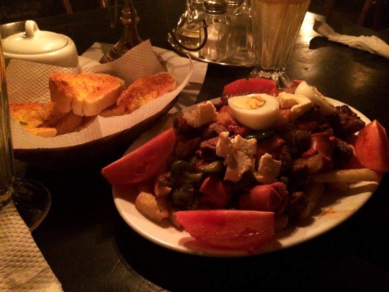 Last dinner - Pique Macho!