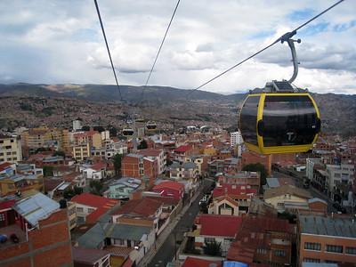 La Paz from el Teleférico