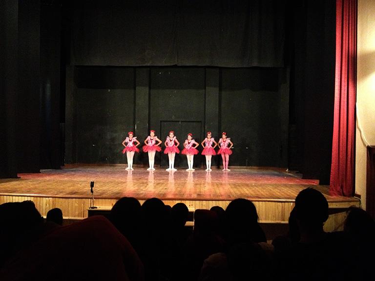 Festival de Danza in my brother's school (Instituto Eduardo Laredo)