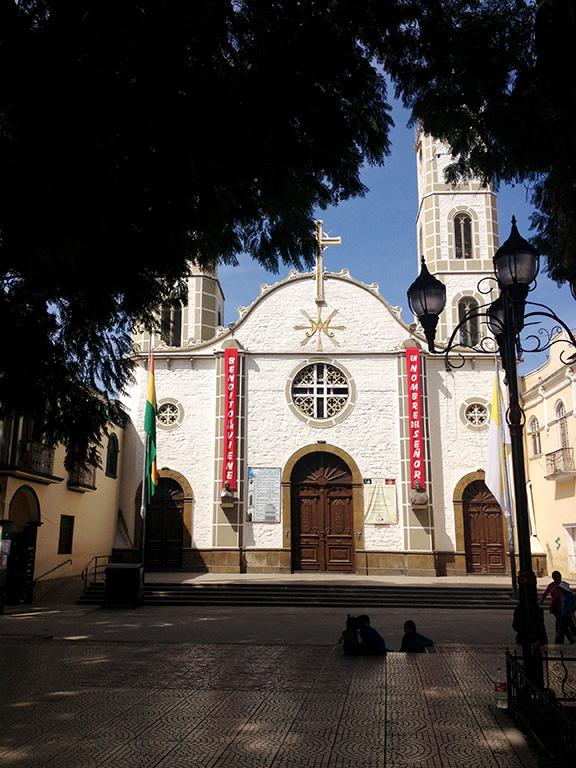 Iglesia en Quillacollo