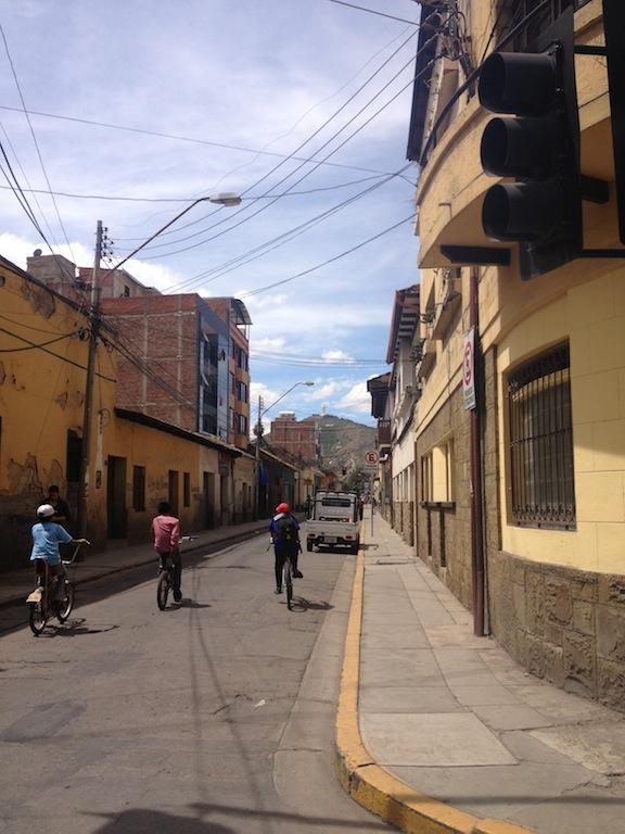 Día del Peatón in Cochabamba, Bolivia