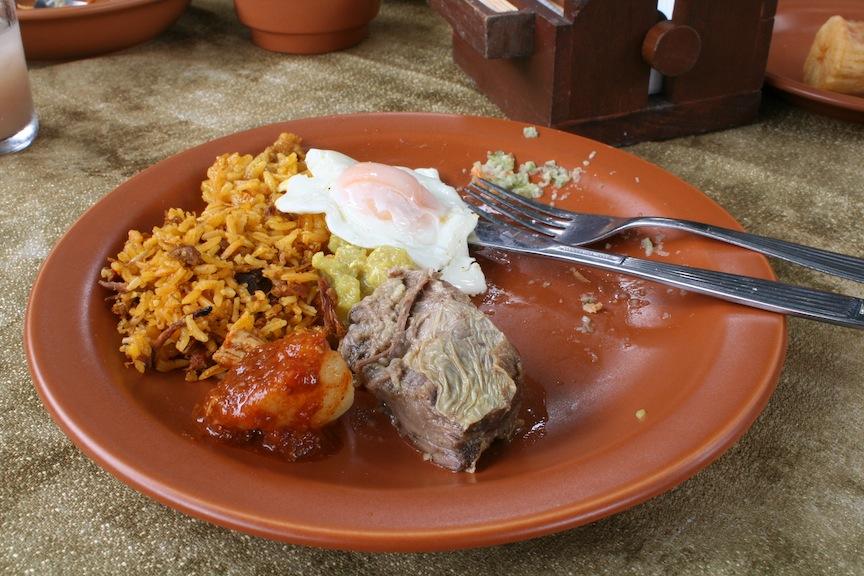 Delicious Santa Cruz lunch