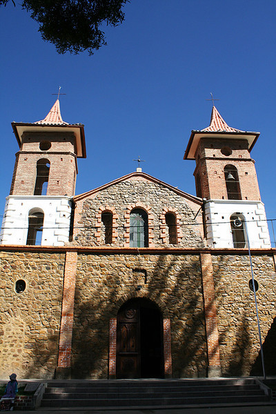 Church in Anzaldo  We visited this beautiful place to commemorate Pati's father who passed away six months ago
