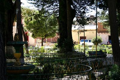 Plaza en Anzaldo