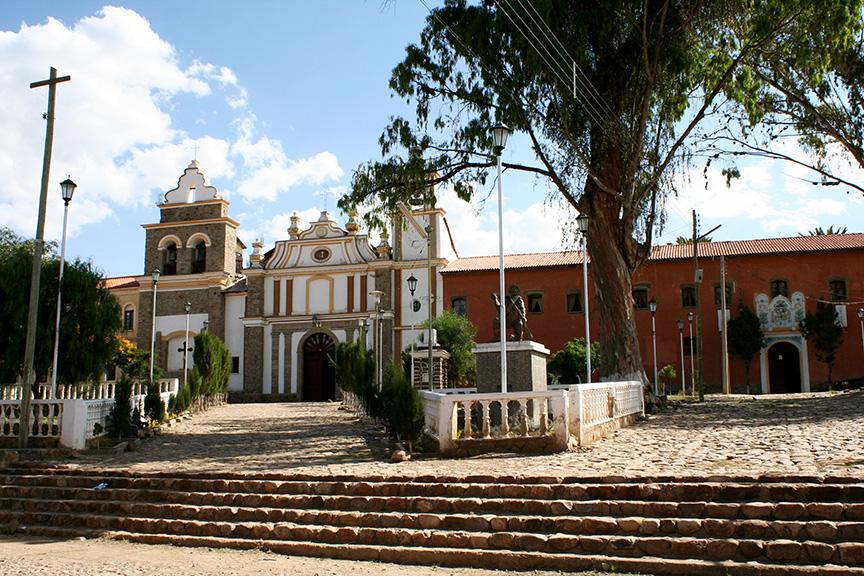 Iglesia in Tarata, Cochabamba
