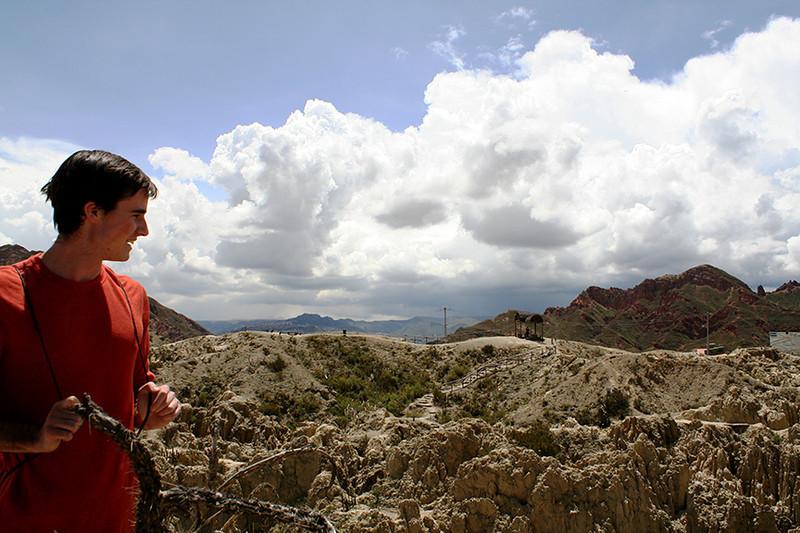 Jordan at Valle de la Luna