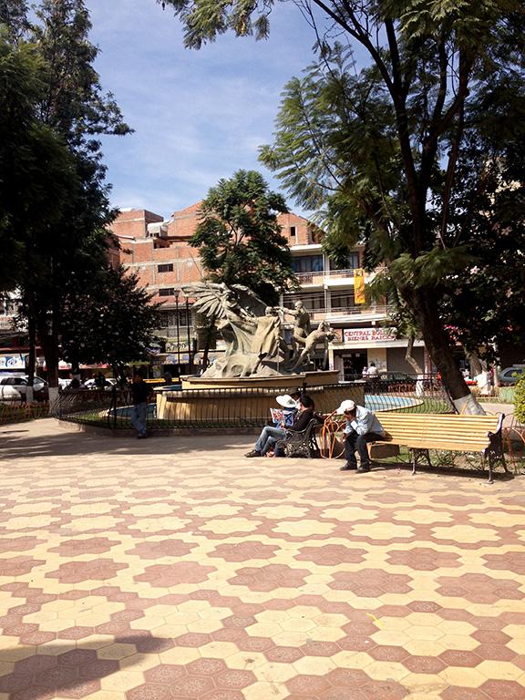 Plaza en Quillacollo