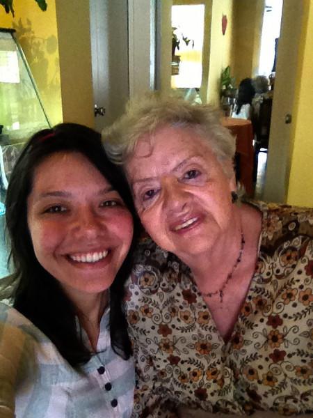 Me and abuelita