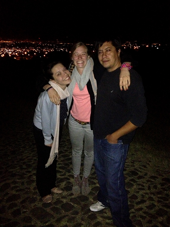 Me, Julia, and Chris