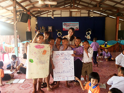 English Camp at Pah Leurat School