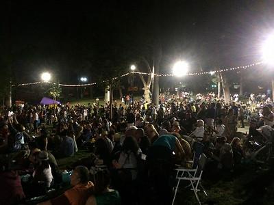 Outdoor La Santa Cecilia Concert
