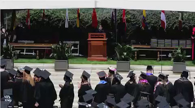 VIDEO: Benyapa receives her diploma (Lo-res for slower connections)
