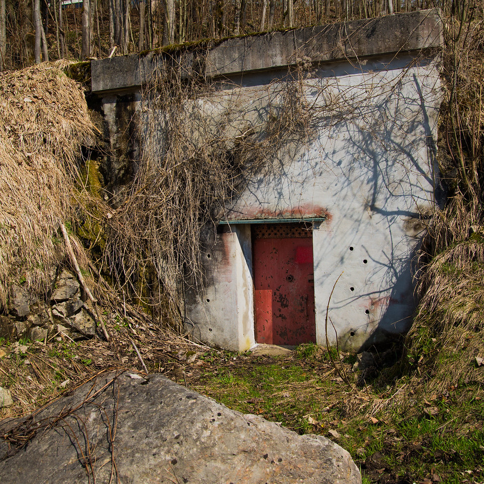 Entrance to Bunker and Tunnels Under Martin Bormann's House