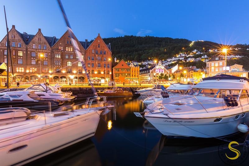 Bergen, Båthamn