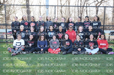 2015-03-19 Bergenfield HS V Girls Softball