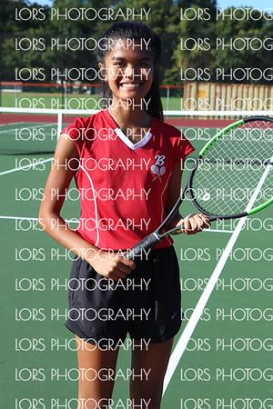 2017-10-12 Bergenfield HS Girls Varsity Tennis