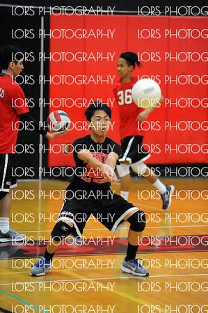2018-04-02 Bergenfield HS Boys V Volleyball