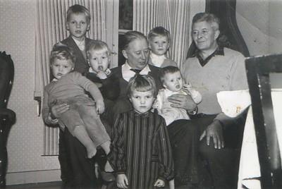 Farbror Gösta Bergqvist på besök