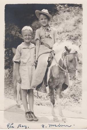 Roy och Melvin Swanson 1939