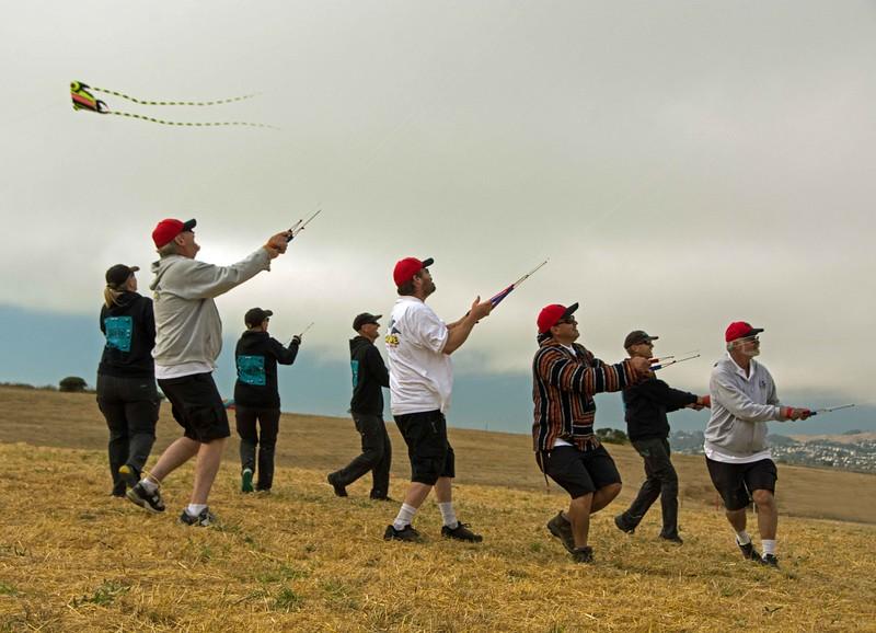 Team kite masters