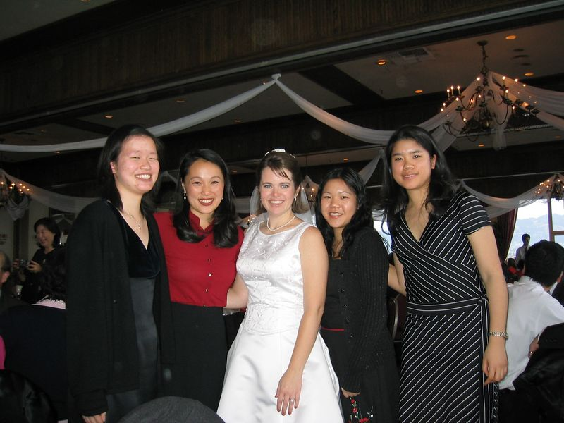 27 - The ladies of Table 7 & the bride - Anta, Soo, Kimberly, Rhonda, & Winita