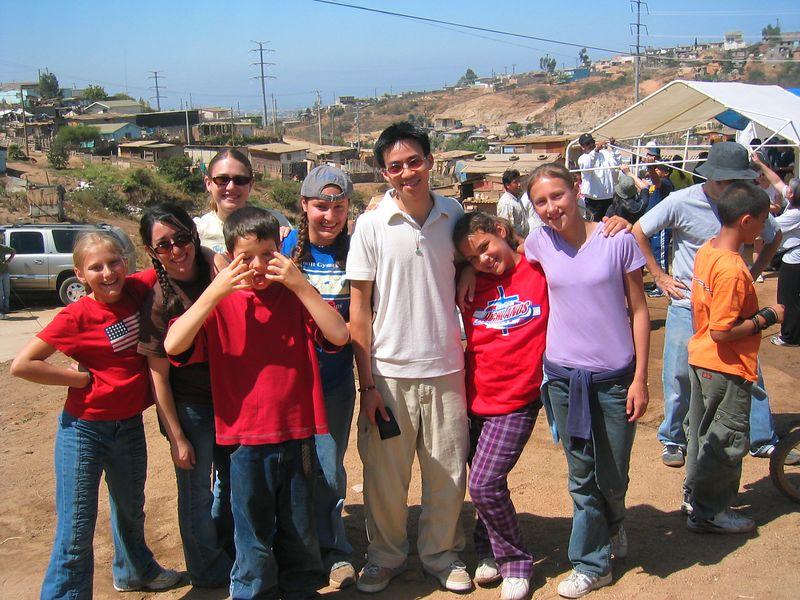 2004 05 30 Sunday Green Team - children's ministry 1