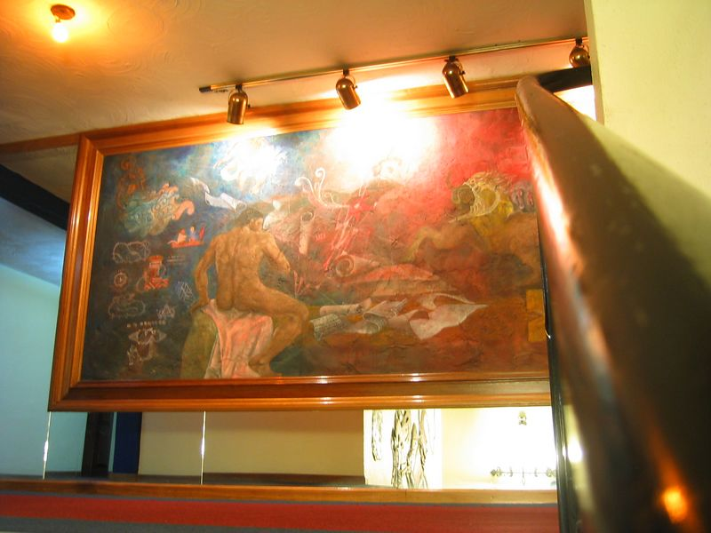 2004 05 28 Friday - Hotel San Nicholas Mayan artwork 2