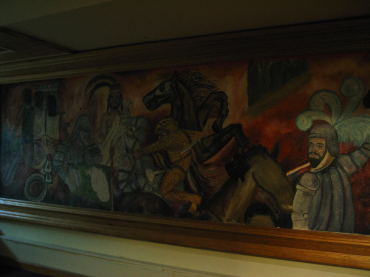 2004 05 28 Friday - Hotel San Nicholas Mayan artwork 3
