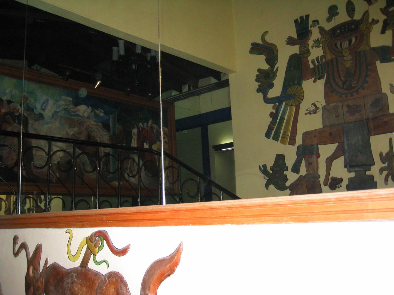 2004 05 28 Friday - Hotel San Nicholas Mayan artwork 1
