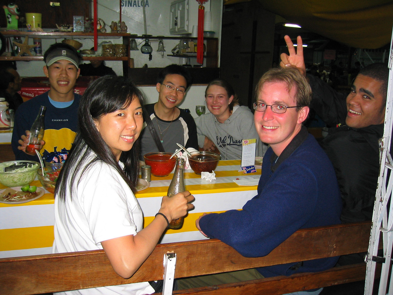 2004 05 29 Saturday - Fish tacos 2