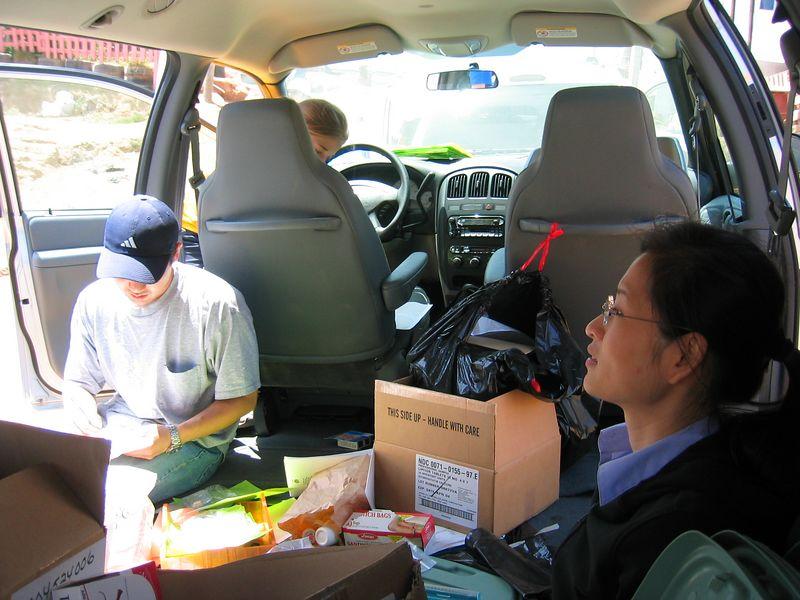 2004 05 30 Sunday Green Team - Pharmacy van
