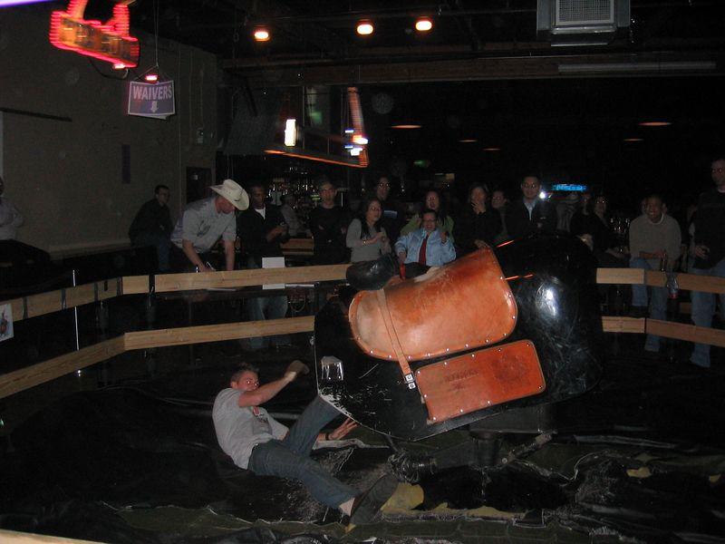 2005 01 21 Friday - Matt falls
