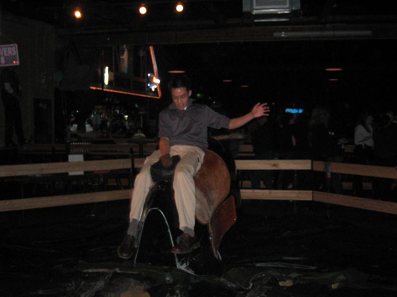 2005 01 21 Friday - Ben rides
