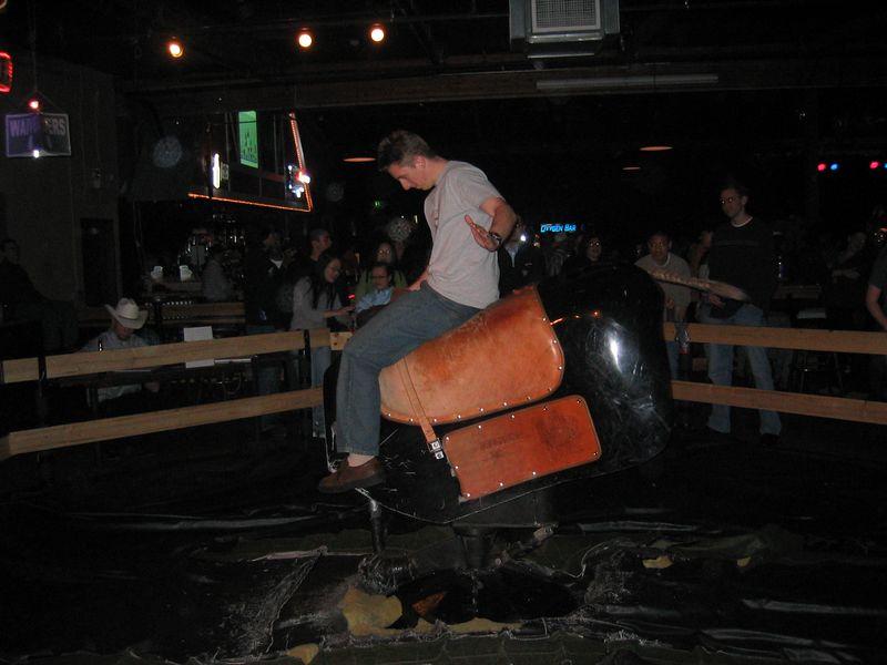 2005 01 21 Friday - Matt rides