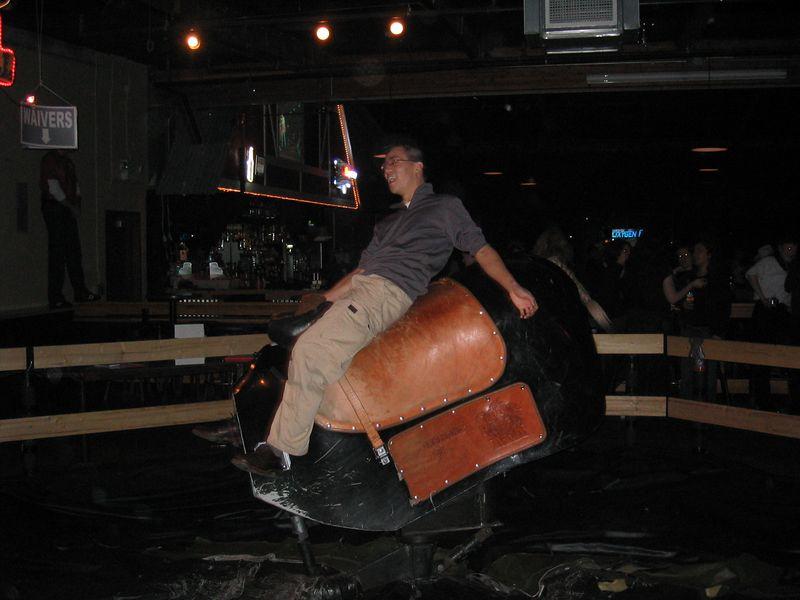 2005 01 21 Friday - Ben slips