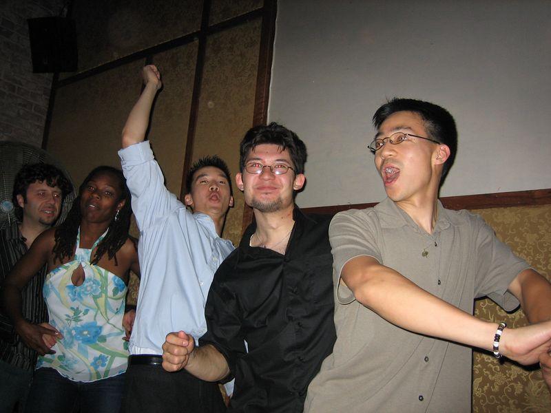 2005 06 04 Saturday - Dragon Bar - Sandwich - Kyle Lessler's dream comes true