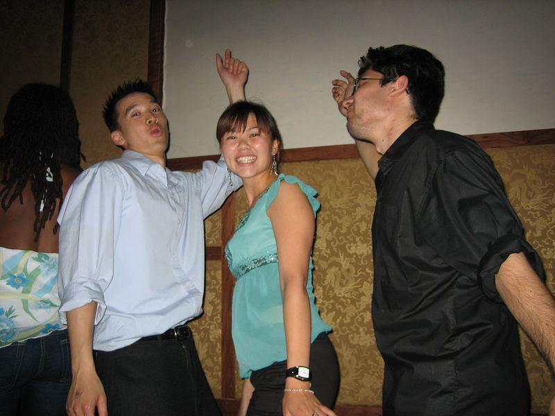 2005 06 04 Saturday - Dragon Bar - Sandwich - A girl's dream come true 1