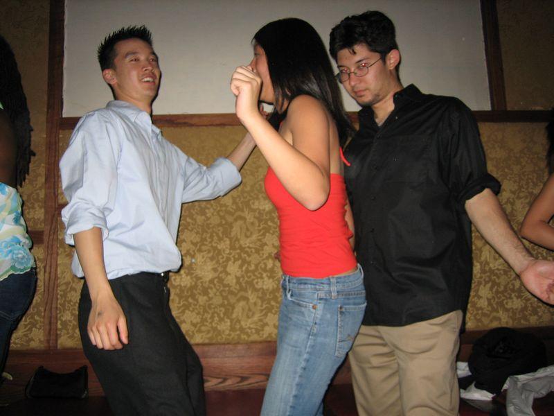 2005 06 04 Saturday - Dragon Bar - Sandwich - Stalker'ish Kyle hunts Debbie